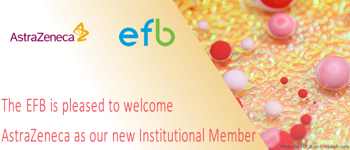 The EFB is pleased to welcome AstraZeneca as our new Institutional Member
