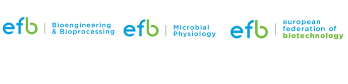 EFB Microbial Biotechnology Division, EFB Bioengeneering & Bioprocessing Division & EFB Logo