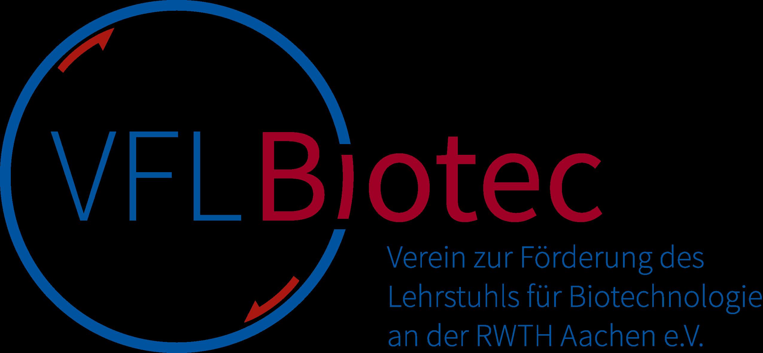 Verein zur Förderung des Lehrstuhls für Biotechnologie der RWTH Aachen - logo